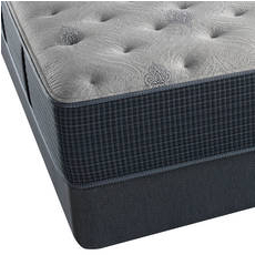 Simmons Beautyrest Silver Lydia Manor III Plush King Mattress Set SDMB101768