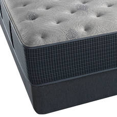 King Simmons Beautyrest Silver Lydia Manor III Plush 13.5 Inch Mattress