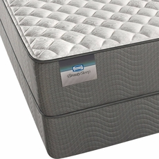 King Simmons BeautySleep Sparkle Sky III Firm Mattress with SmartMotion 2.0 Adjustable Base