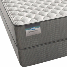 Queen Simmons BeautySleep Sparkle Sky III Firm Mattress with SmartMotion 2.0 Adjustable Base