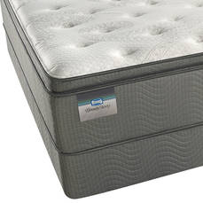 "Simmons BeautySleep Star Fall III Plush Pillow Top King Mattress Only OVML021931 - Clearance Model ""As Is"""