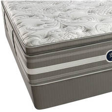 Simmons Beautyrest Recharge World Class Phillipsburg II Plush Pillow Top Queen Mattress Set SDMB091744