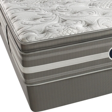 Queen Simmons Beautyrest Recharge World Class Phillipsburg II Plush Pillow Top Mattress Only SDMB021816