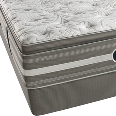 King Simmons Beautyrest Recharge World Class Phillipsburg II Plush Pillow Top Mattress