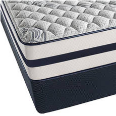 Queen Simmons Beautyrest Recharge Kenosha Place II Firm Mattress with SmartMotion 1.0 Adjustable Base