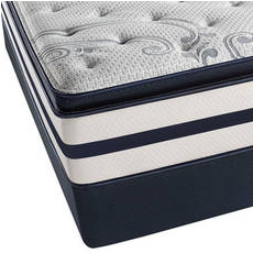 Simmons Beautyrest Recharge Kenosha Place II Plush Pillow Top Cal King Mattress Set SDMB091735