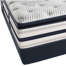 King Simmons Beautyrest Recharge Lydia Manor II Plush Pillow Top Mattress