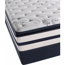 Full XL Simmons Beautyrest Recharge Kenosha Place II Luxury Firm Pillow Top Mattress