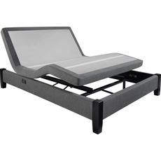 Clearance Beautyrest Renew Plus Adjustable Queen Power Base Grey SDMB071742