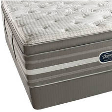 King Simmons Beautyrest Recharge World Class Tillingham II Plush Pillow Top Mattress