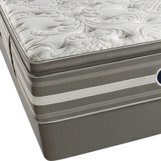 Full XL Simmons Beautyrest Recharge World Class Phillipsburg II Luxury Firm Pillow Top Mattress