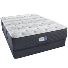 King Simmons Beautyrest Platinum Haven Pines Luxury Firm 14.8 Inch Mattress Set