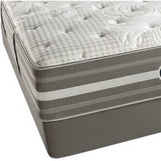 Queen Simmons Beautyrest Recharge World Class Tillingham II Firm Pillow Top Mattress Only SDMB011840