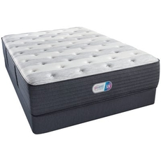 Full Simmons Beautyrest Platinum Tillingham III Plush 14.8 Inch Mattress