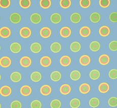 SIS Custom Fabric Daybed Cover in Candy Dot