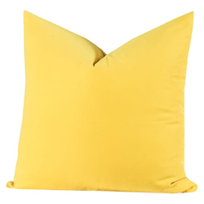 SIS Covers Crayola 26 x 26 Pillow in Laser Lemon