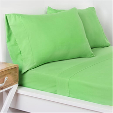 SIS Covers Crayola Full Size Microfiber Sheet Set in Jungle Green