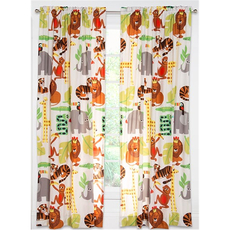 SIS Covers Crayola Jungle Love 84 Inch Rod Pocket Panel