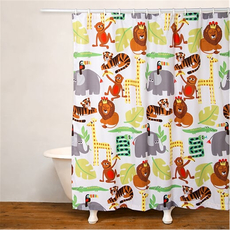 SIS Covers Crayola Jungle Love Shower Curtain