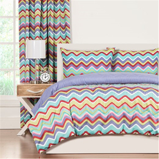 SIS Covers Crayola Mixed Palatte Full/Queen Comforter Set