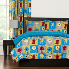 SIS Covers Crayola Monster Friends Full/Queen Comforter Set