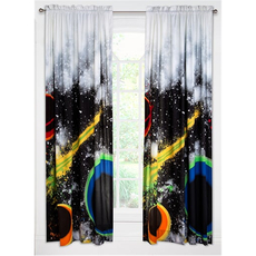 SIS Covers Crayola Out Of This World 84 Inch Rod Pocket Panel