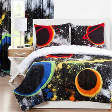 SIS Covers Crayola Out Of This World Full/Queen Comforter Set