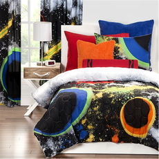 SIS Covers Crayola Out Of This World Twin Comforter Set