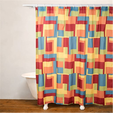 SIS Covers Crayola Paint Box Shower Curtain