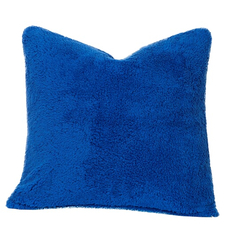 SIS Covers Crayola Playful Plush 16 x 16 Pillow in Blue Berry Blue