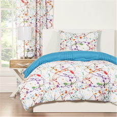 SIS Covers Crayola Splat Twin Comforter Set