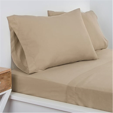 SIS Covers Crayola Twin Microfiber Sheet Set in Beaver