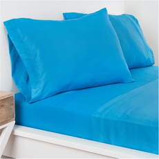 SIS Covers Crayola Twin Microfiber Sheet Set in Cerulean