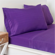 SIS Covers Crayola Twin Microfiber Sheet Set in Royal Purple