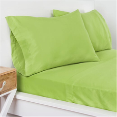 SIS Covers Crayola Twin Microfiber Sheet Set in Spring Green