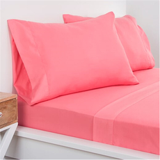 SIS Covers Crayola Twin Size Microfiber Sheet Set in Cotton Candy