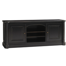Sligh Breckenridge Silverthorne TV Console in Weathered Black