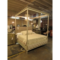 Clearance Caracole Over The Top King Canopy Bed OVFCR121770