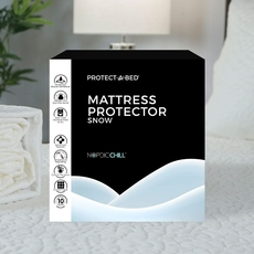 Protect-A-Bed Therm-A-Sleep Snow Split King Mattress Protector