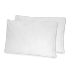 Soft-Tex Jumbo Low Profile Flat Pillow 2 Pack