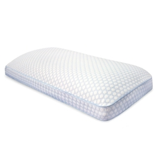 Soft-Tex King Size SensorPedic Regal Gusseted Bed Pillow with GEL