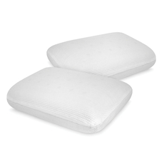 Soft-Tex SensorPedic Classic Comfort Memory Foam Bed Pillow 2 Pack