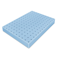 Soft-Tex Supreme 4'' Ventilated Memory Foam Topper