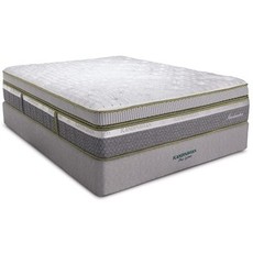 King Southerland Scandinavian Sandmahn Plush Box Top 16 Inch Mattress