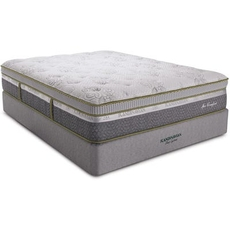 King Southerland Scandinavian Spa Comfort Latex Plush Euro Top 14 Inch Mattress