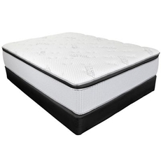 King Southerland Thermo Balance Splendor Luxury Plush 17 Inch Mattress