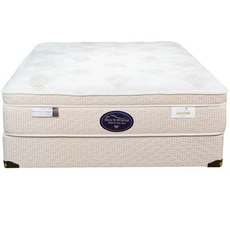 Twin Spring Air Back Supporter Perfect Balance Alexis Euro Top 14.5 Inch Mattress