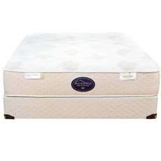 Queen Spring Air Back Supporter Perfect Balance Alexis Plush 12.5 Inch Mattress