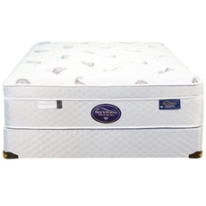 Cal King Spring Air Back Supporter Platinum Amethyst Euro Top 14.5 Inch Mattress