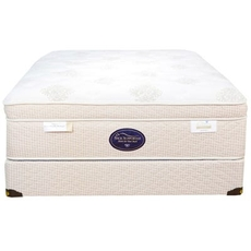 Queen Spring Air Back Supporter Perfect Balance Angelica Euro Top Mattress